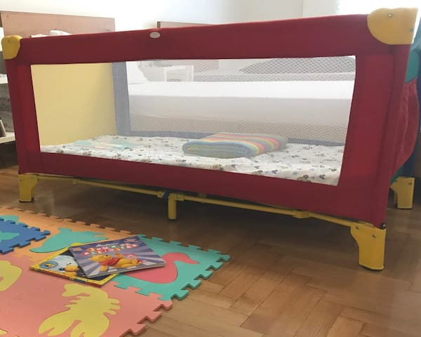 a baby bed can be provided upon request