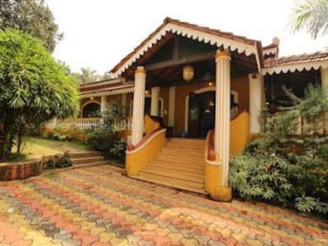 La estancia en Bougainvilla - Goa