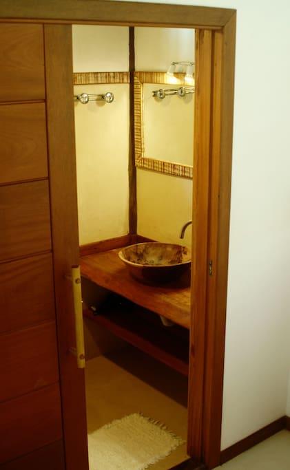 Salle de bain privé.