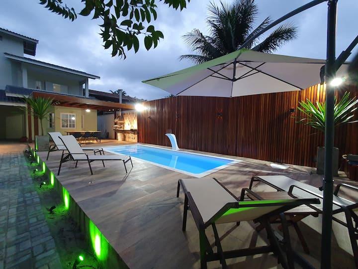 Casa  piscina itagua parque vivamar ar cond, wi_fi