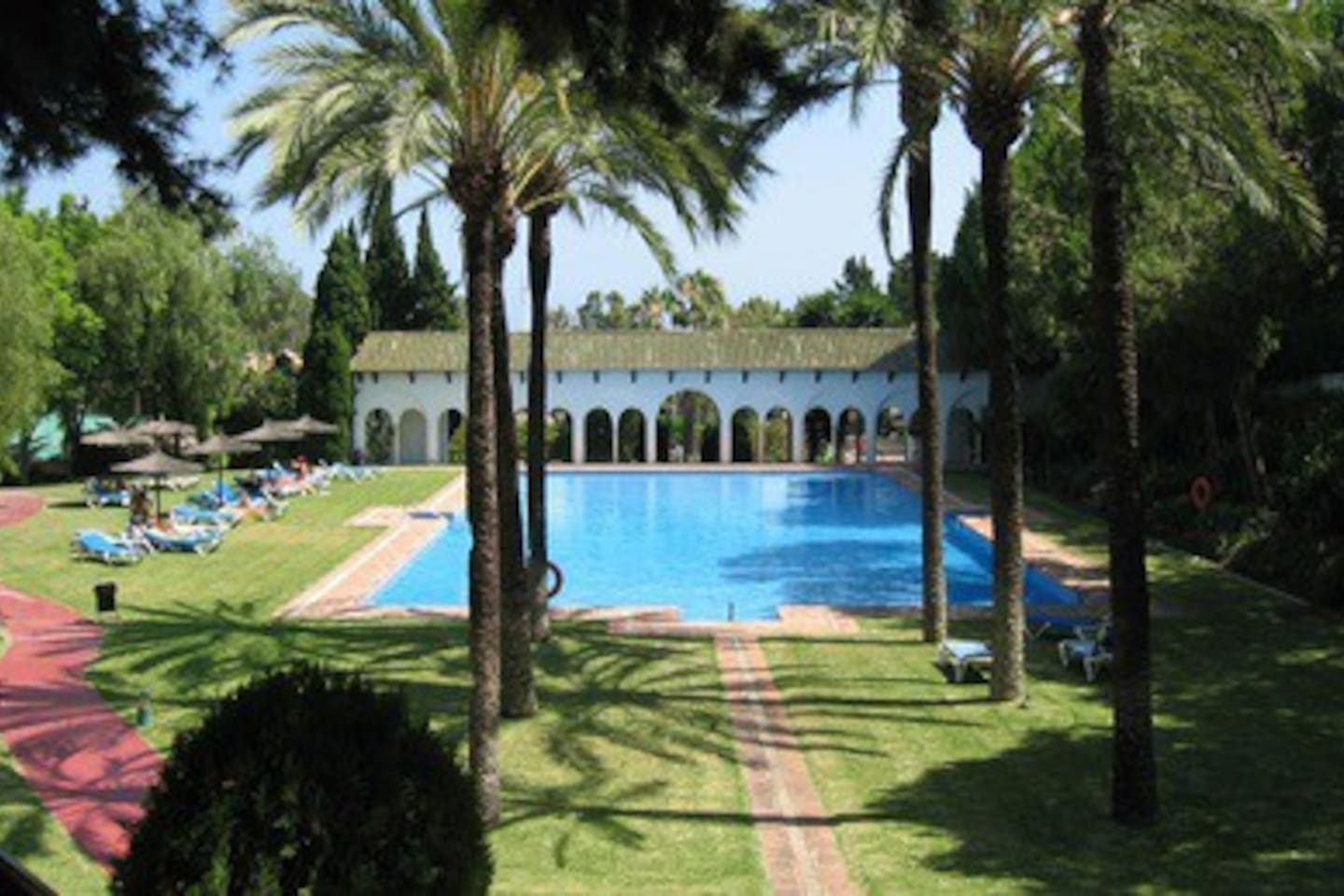 """Main pool and """"area tranquilidad"""", Family/childrens pool is located just behind the portals"""