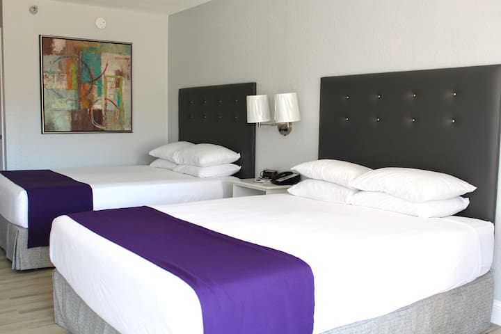 2 Queen Beds Business Room
