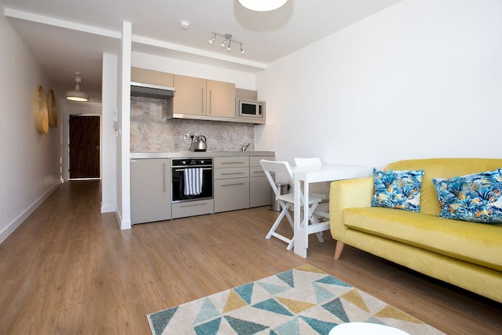 Modern 1 Bed Apartment in City Centre - 302