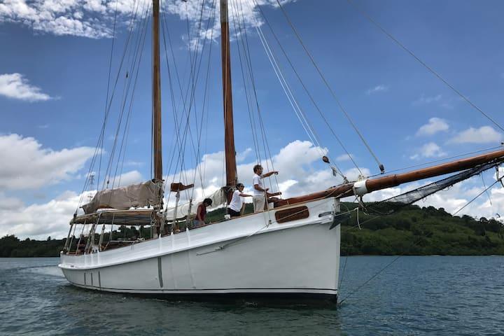 """Classic schooner """"Seraph"""". Phuket"""