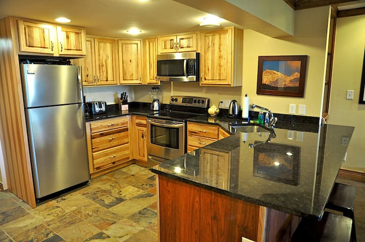 A great kitchen with all the appliances you will need
