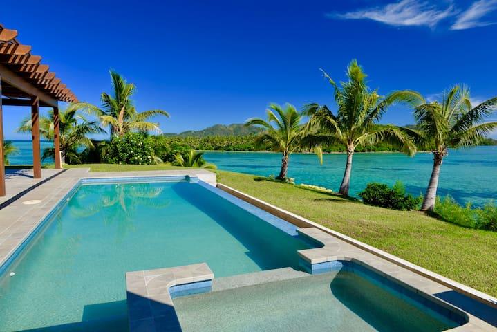 Vale-I-Yata. Luxury Private Villa, Fiji - Malolo Island - Huis