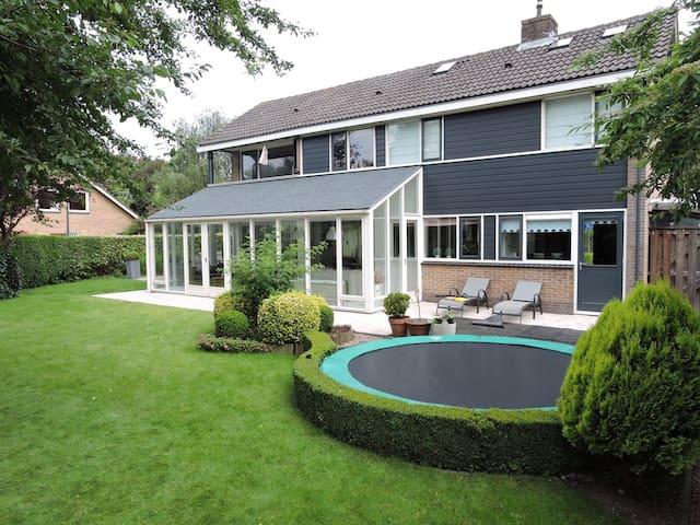 Ruimte en groen, ideaal voor gezin - Hoorn - House