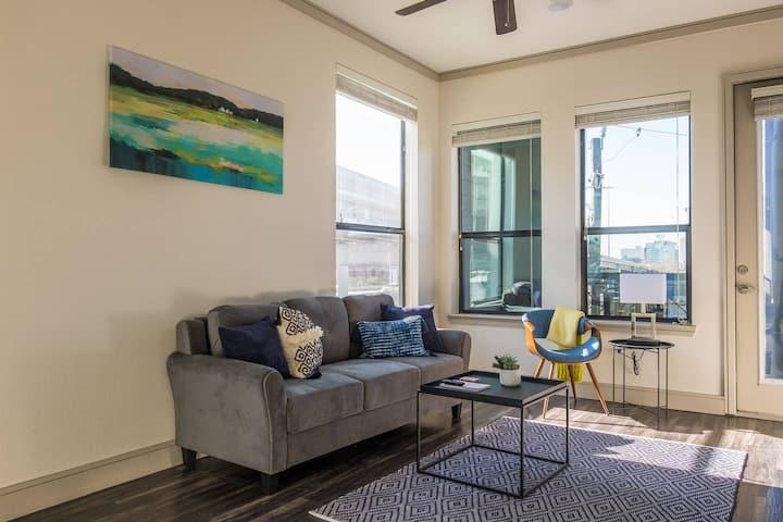 Luxurious Downtown Houston 1BR Apt