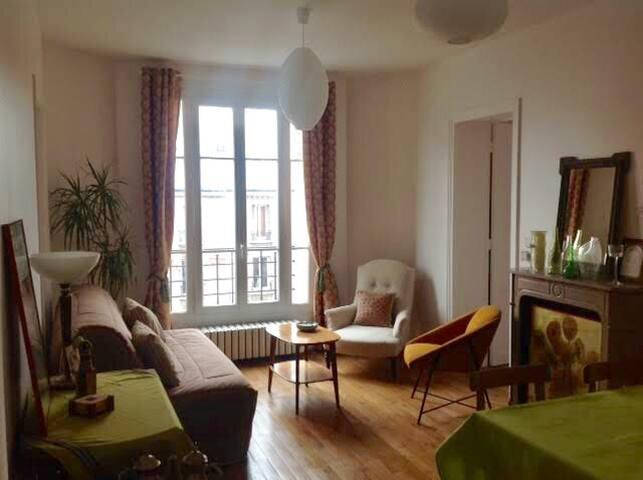 Chambre spacieuse à 2 pas de Paris
