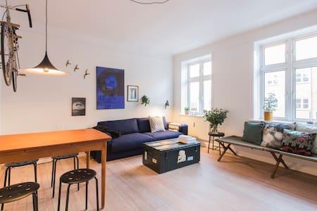 65 cool m2 med perfekt beliggenhed - Appartement
