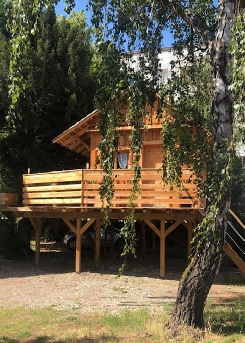 Une cabane insolite dans la ville