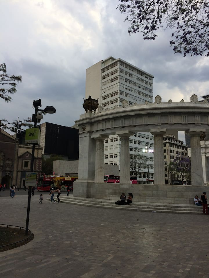 """YOUR PLACE DOWNTOWN MEXICO CITY """"CARSO ALAMEDA"""""""