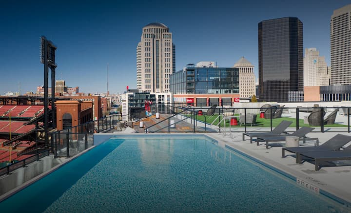 Luxury 1bdrm at Busch Stadium - Long Stay Welcome