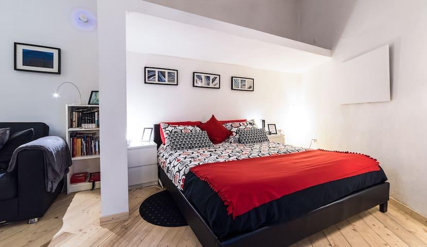 Big confortable bed