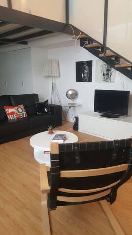 Centrally located loft in Madrid - Madrid - Lägenhet
