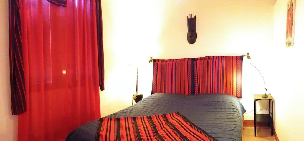 Terme e relax in campagna camera rossa