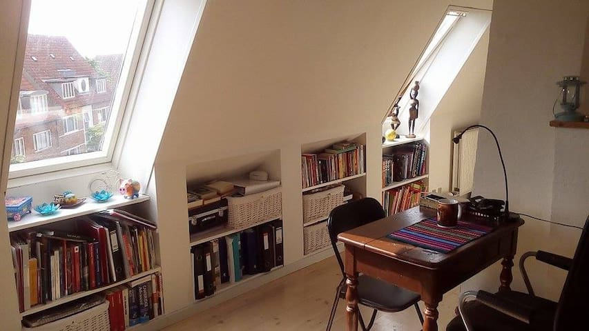 Nice and cozy rooftop apartment - Odense - Apartment