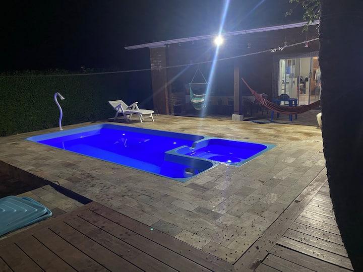 Linda Casa na Praia da Jureia