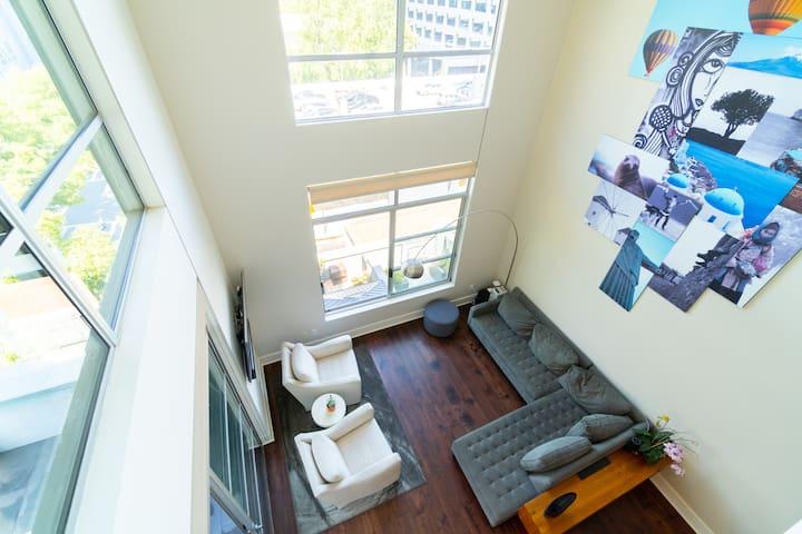 Santana Row 4-Bedroom Loft