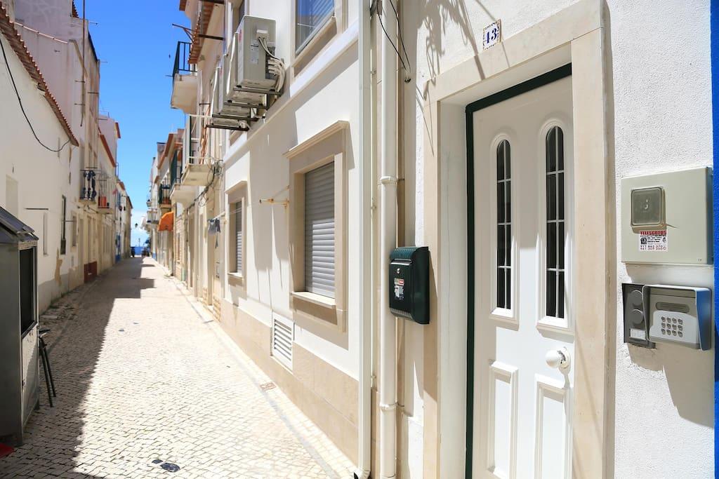Centro histórico da vila