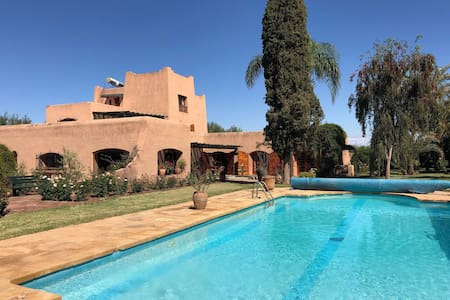 Haven of peace in Marrakech - Pool & Tennis court