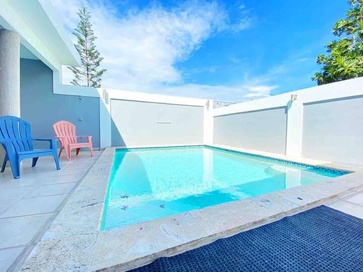 Luxury 3BR white villa w/ private pool