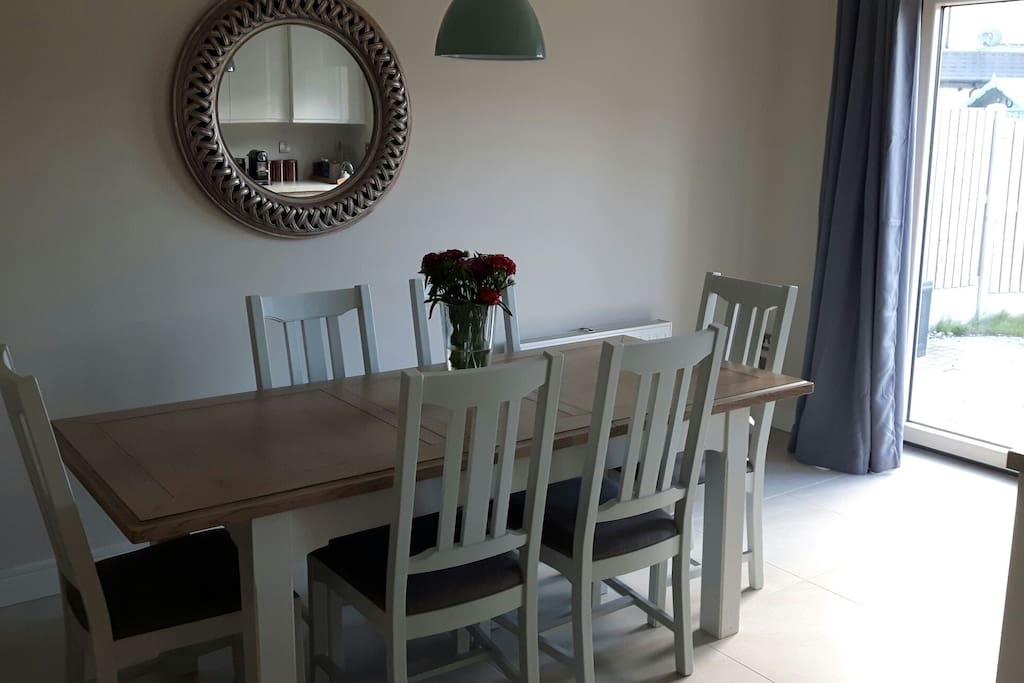 Dining area perfect for meal times