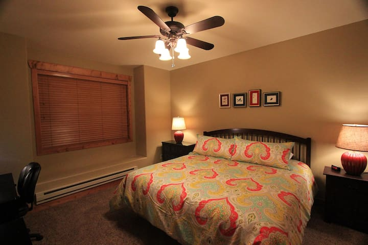Master Bedroom with desk for a quiet work space