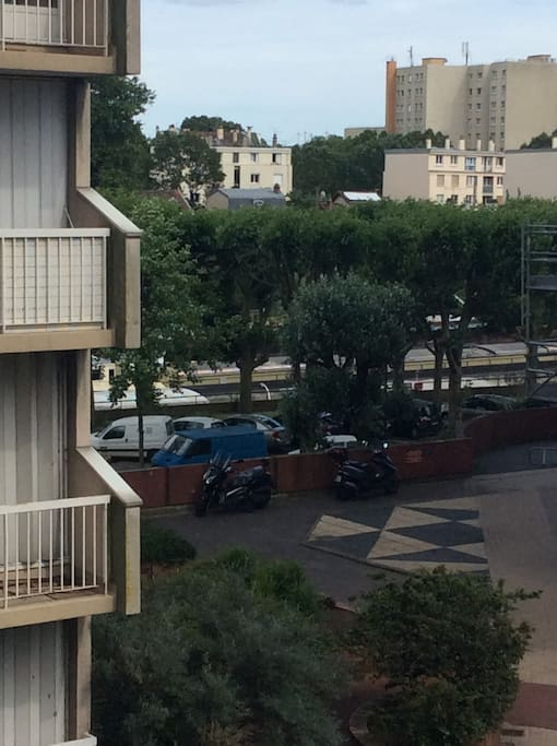 Balcon Donnant sur la Seine