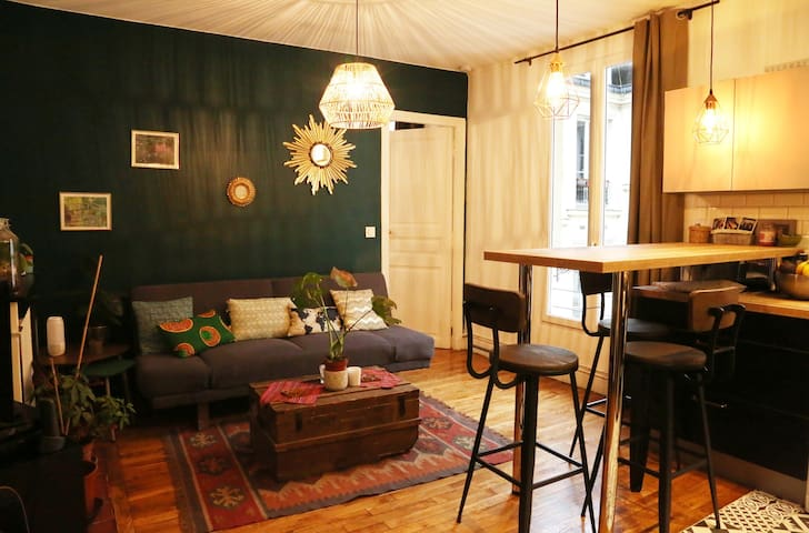 Nice warm apartment near Montmartre!