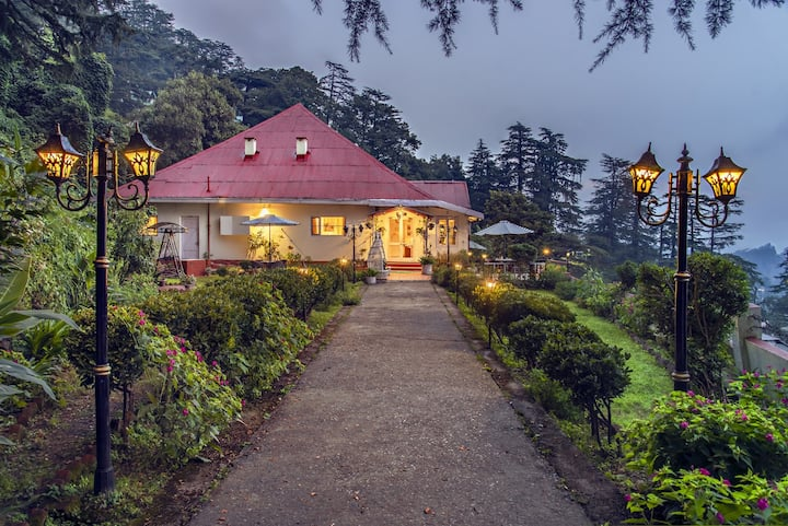 5 BHK Heritage Private Cottage in Central Shimla