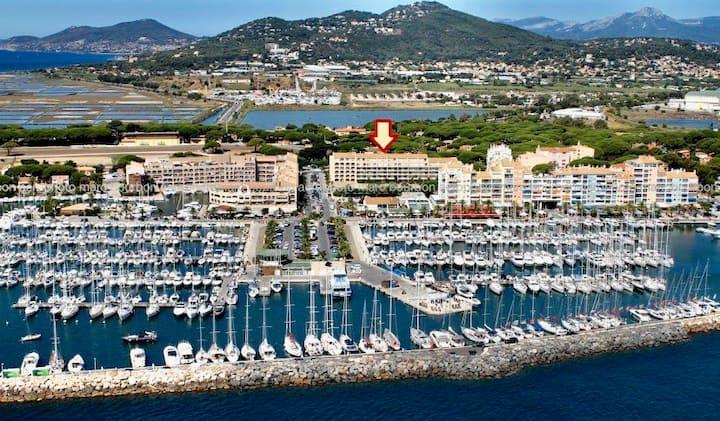 «Le Jeannot» 4 pers port de Hyères