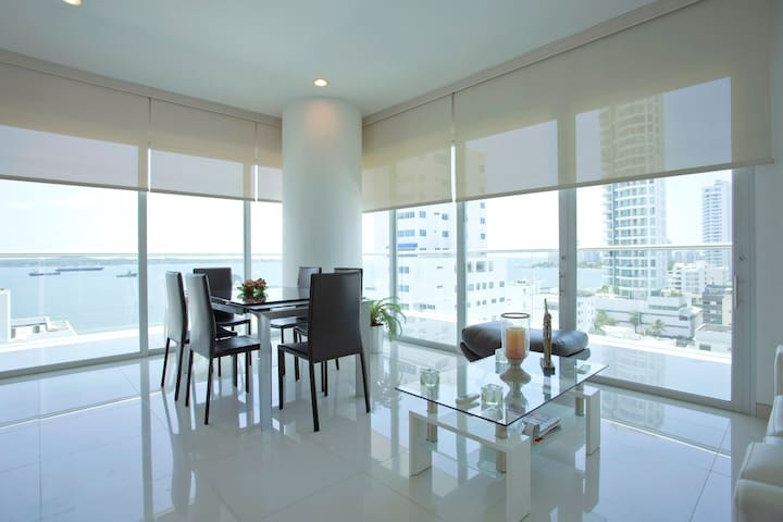 Amazing 180 Degree Sea View Apt - Cartagena - Appartement