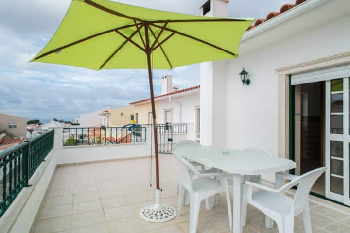 Two bedrooms apartment in Nazare
