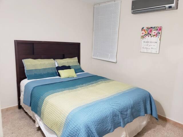 Habitación # 1 con aire acondicionado