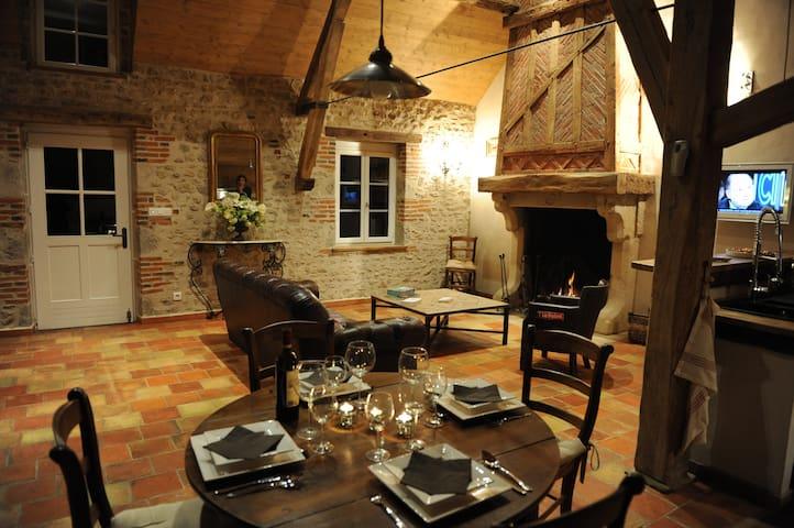 Maison de Luxe dans la forêt d'Orléans