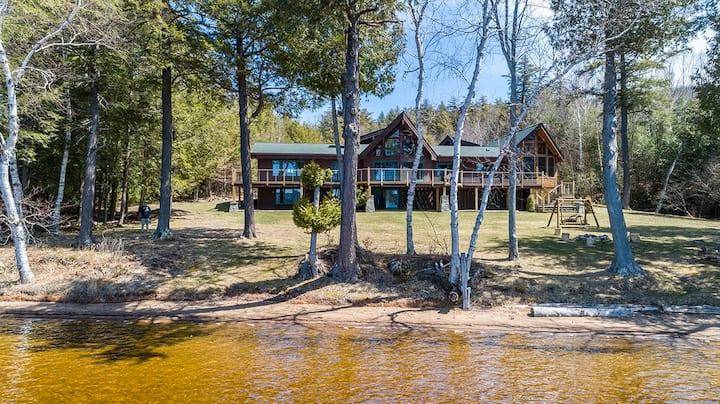Alpenglow Lakeside Lodge on Lower Saranac