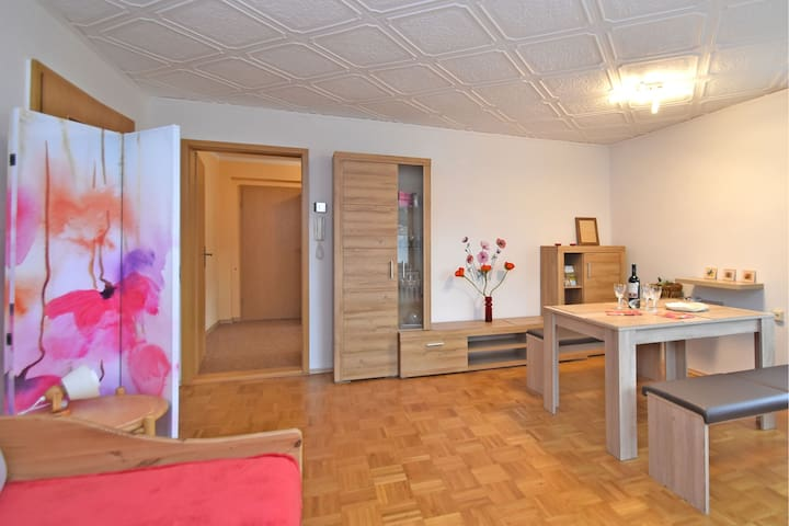 Lovely ground-floor apartment with terrace in Jöhstadt, in the Ore Mountains