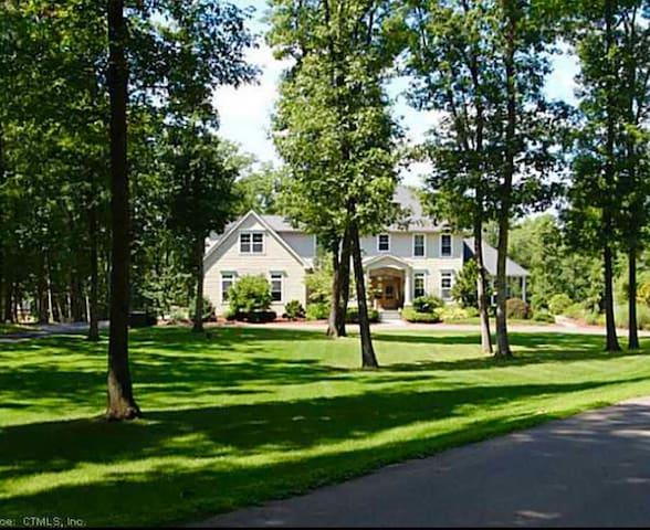 Beautiful 7 acres country estate. - Willington - Huis