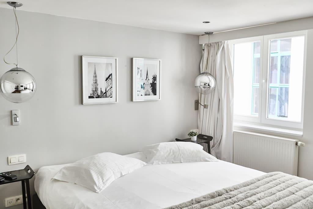 Villa sablon white room 2 chambres d 39 h tes louer bruxelles bruxelles belgique - Chambre d hotes bruxelles ...