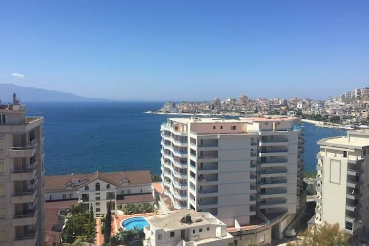 Apartment in Sarande with sea view