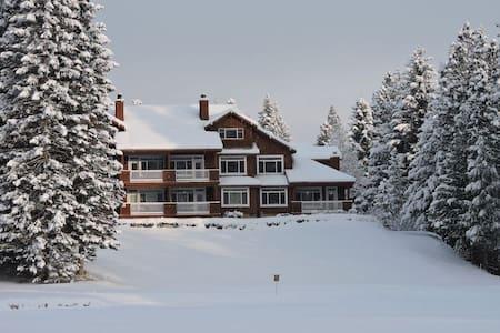 Winter magic in beautiful mountain setting!