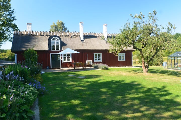 Traditional farm house in Sweden