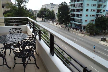 El balcón de Línea.