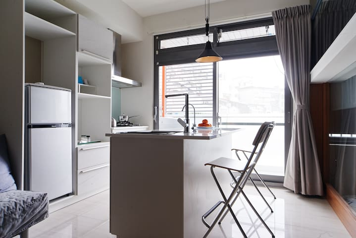 Your home in Taipei! Comfy new 2rm apt. MRT Donghu - Taipeh - Wohnung