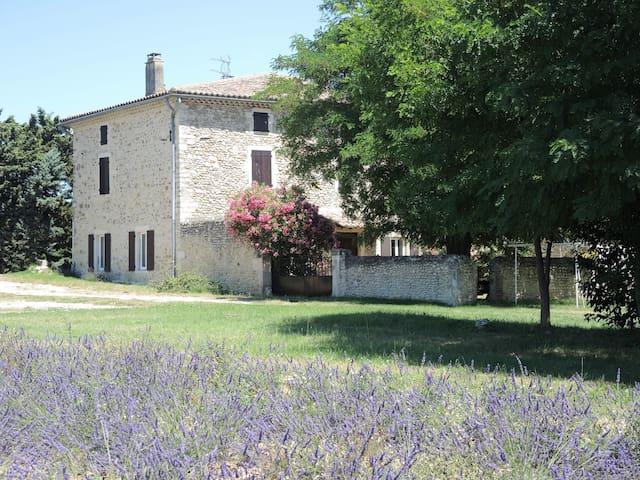 GITE EN DROME PROVENCALE - Bonlieu-sur-Roubion - Pondok alam