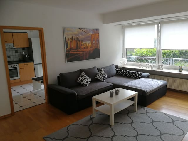 3ZKB Wohnung mit 75qm, im Zentrum von Saarbrücken.