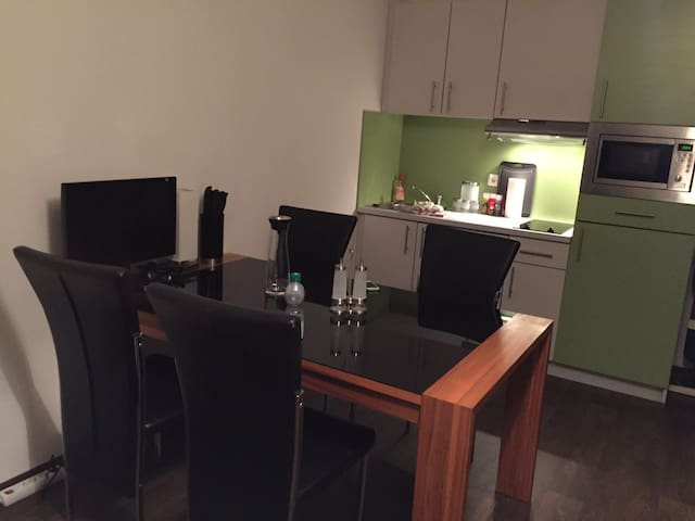 Modernes, schönes Appartment in guter Lage ! - Neu-Ulm - Apartamento