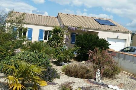 Maison cosy dans le centre de Jard - Jard-sur-Mer