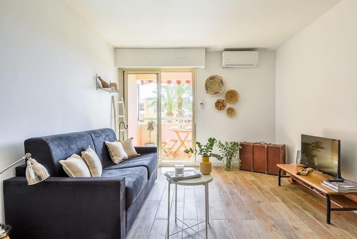 Appartement proche de la mer - Golfe juan